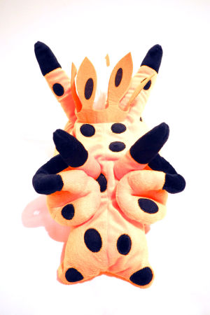 NUDIBRANCH TISSUE BOX / CUDDLY COUCH ANIMAL THECARERA