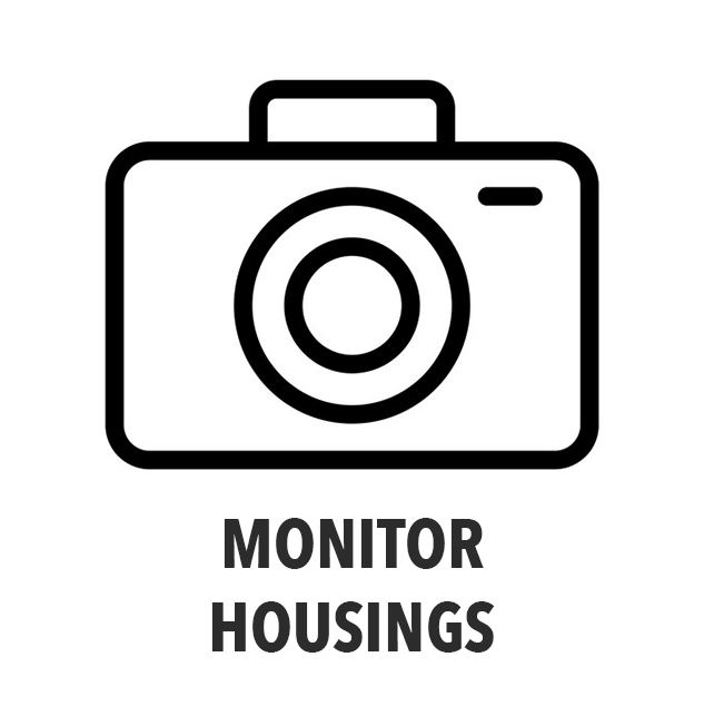 Monitor housings