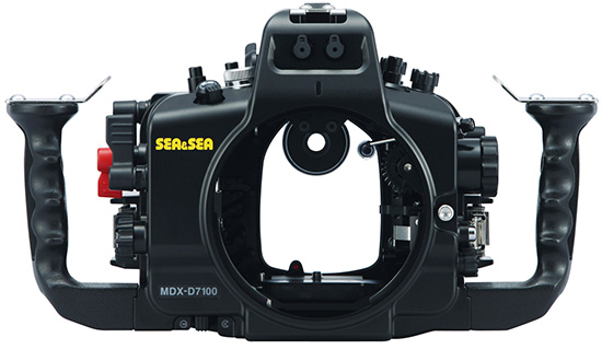DSLR UW housing